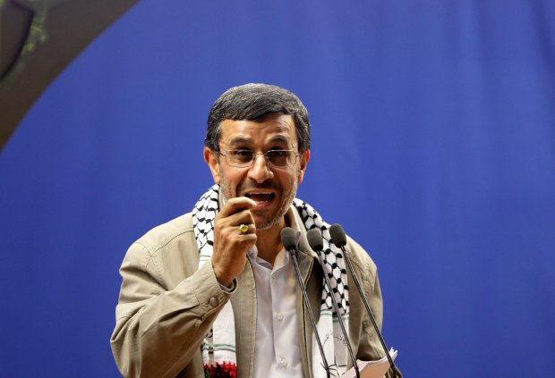 Ahmedinejad at al-Quds day rally
