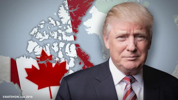 Trump faces gnawing problems in the Great White North